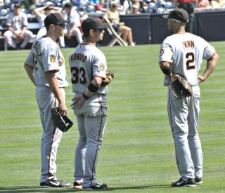 Giants outfield by Flickr user SD Dirk