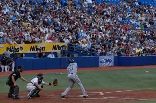 Rays vs. Jays by Flickr user Stefano A