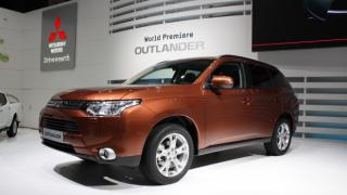 2012 Geneva Motor Show - Mitsubishi Outlander by Flickr user NRMA New Cars