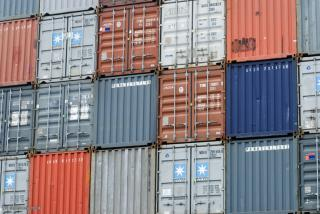 shipping containers by Flickr user photohome_uk