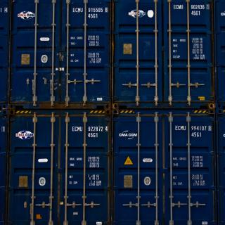 Container Blues by Flickr user on1stsite.