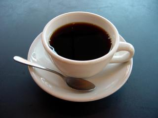 A_small_cup_of_coffee.JPG by Freebase