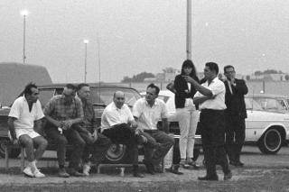 Sperry Univac 1968-09-05: The Management Bench by Flickr user orcmid